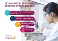 Cartel III Convocatoria de premios a Jóvenes Investigadores - Fundación AstraZeneca