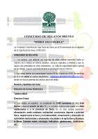 Cartel Concurso de Relatos Breves Soria Saludable.