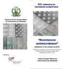 Cartel XIV Jornadas de Seguridad Alimentaria - Resitencia antimicrobiana.