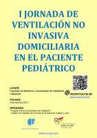 Cartel I Jornada de Ventilación No Invasiva Domiciliaria en el Paciente Pediátrico.