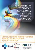 5ª Reunión sobre Continuidad Asistencial en el Paciente Hepático y Trasplantado