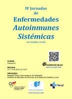 IV Jornadas de Enfermedades Autoinmunes Sistémicas en Castilla y León.
