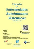 V Jornadas de Enfermedades Autoinmunes Sistémicas en Castilla y León.
