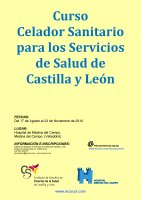 Cartel Curso Celador Sanitario Medina del Campo