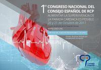 Cartel 1er Congreso Nacional del Consejo Español de RCP