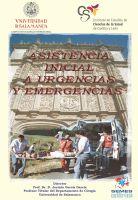 Cartel Diploma de Especialización en asistencia inicial a urgencias y emergencias (Semi-presencial). 20ª Promoción. Título Propio de la Universidad de Salamanca.