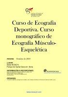 Cartel Ecografía Deportiva