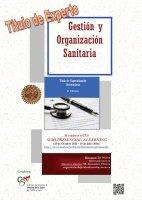 Cartel Diploma de Especialización en Gestión y Organización Sanitaria (Semi-presencial - online). 2ª Promoción. Título Propio de la Universidad de Salamanca.