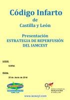 Cartel Presentación Estrategia de Reperfusión del IAMCEST.