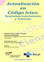Curso Actualización en Código Ictus: Neurointervencionismo y Teleictus.