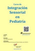 Cartel Curso de Introducción a la Teoría de la Integración Sensorial en Pediatría