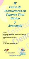 Cartel  Curso Instructores Soporte Vital Básico y Avanzado 4