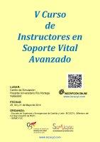 Cartel V Curso de Instructores Soporte Avanzado..