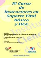 Cartel  Curso Instructores Soporte Vital Básico + DEA 4