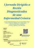 Cartel I Jornada Dirigida a Recién Diagnosticados de una Enfermedad Crónica.
