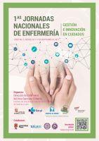 Cartel Primeras  Jornadas Nacionales de Enfermería: Gestión e Innovación en Cuidados.