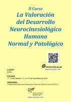 Cartel II Curso La Valoración del Desarrollo Neurocinesiológico Humano. Normal y Patológico.
