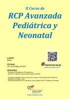 Cartel II Curso de RCP Avanzada Pediátrica y Neonatal.