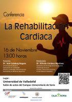 Cartel Conferencia La Rehabilitación Cardiaca