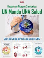 Cartel Gestión de Riesgos Sanitarios. UN Mundo UNA Salud.