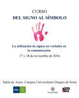 Cartel Curso del Signo al Símbolo
