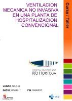 Cartel Curso Ventilación Mecánica No Invasiva en una Planta de Hospitalización Convencional.