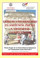 Cartel Experto Universitario en Urgencias y Emergencias