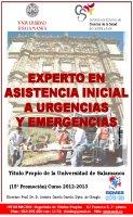 Cartel Experto en Urgencias y Emergencias