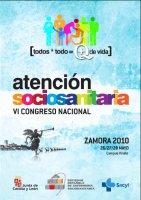 Cartel VI Congreso Nacional de Atención Sociosanitaria