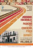 Cartel Jornadas Medicina Educación Física y Deporte