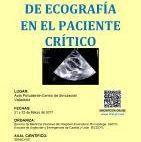 Cartel V Curso Ecofrafía Básica en el Paciente Crítico