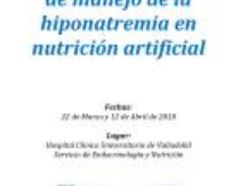 Jornada práctica de manejo de la hiponatremia en nutrición artificial