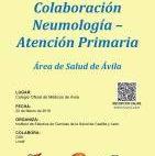 Cartel VI Jornada de Colaboración Neumología-Atención Primaria