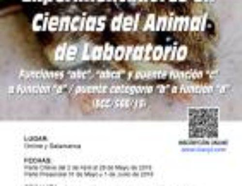 XVII Curso de Capacitación para Experimentadores en Ciencias del Animal Laboratorio.