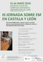 Cartel III Jornada EM CyL