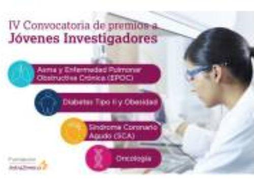 IV Convocatoria de premios a Jóvenes Investigadores – Fundación AstraZeneca