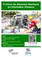 II Curso de Atención Sanitaria en Atentados Urbanos