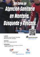 XIII Curso de Atención Sanitaria en Montaña. Búsqueda y Rescate