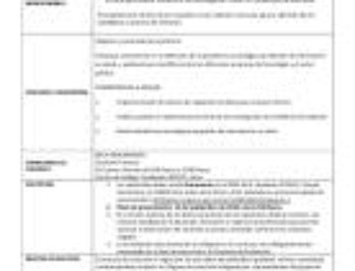 Proceso de selección Beca Remunerada Prácticas Informática