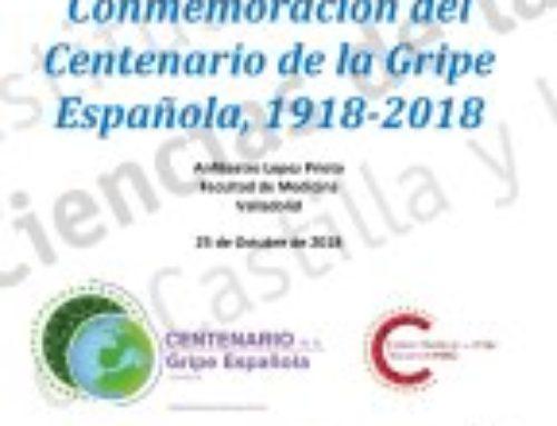 Jornadas de Conmemoración del Centenario de la Gripe Española, 1918-2018