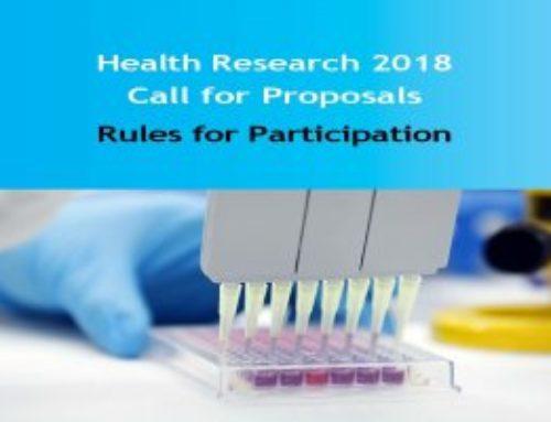 """Health Research 2018 Call for Proposals """"La Caixa"""""""