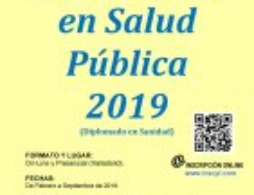 Diplomado en Salud Pública 2019 (Diplomado en Sanidad).
