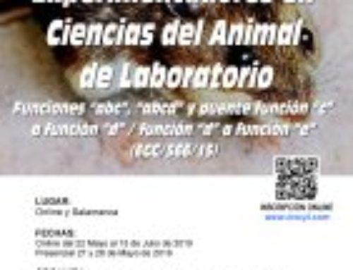 XVIII Curso de Capacitación para Experimentadores en Ciencias del Animal Laboratorio. Funciones ABCD y E.