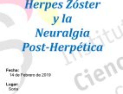 Jornada sobre Herpes Zóster y la Neuralgia Post-Herpética