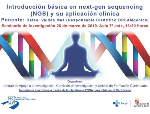 Introdución básica en next-gen sequencing (NGS) y su aplicación clínica