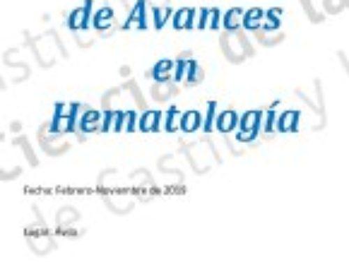 Curso de Avances en Hematología
