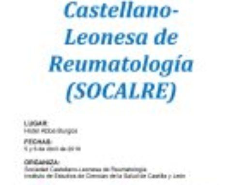XXX Congreso de la Sociedad Castellano-Leonesa de Reumatología (SOCALRE)