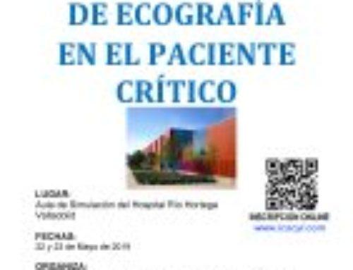 VI Curso Avanzado de Ecografía en el Paciente Crítico