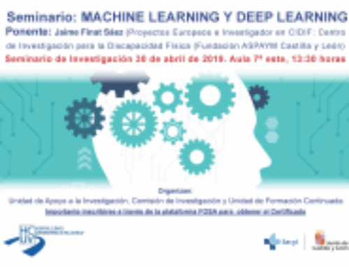 Seminario Machine Learning y Deep Learning