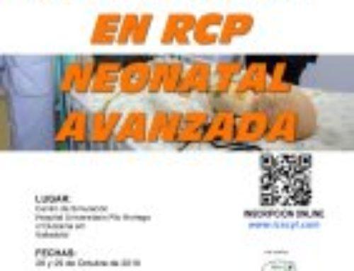 III Curso de Simulación de RCP Neonatal Avanzada